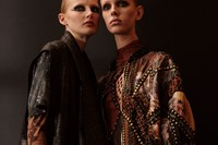 Balmain AW17 womenswear paris dazed 0