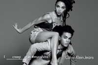 FKA twigs and Kaner Flex for Calvin Klein Jeans SS16 campaig 1