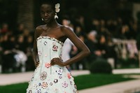 Chanel SS19 Couture Paris Karl Lagerfeld Adut Akech