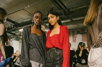 Backstage at the AW20 Y/Project fashion show 5 4