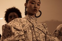 Backstage at Kenzo SS17 Womenswear PFW Dazed 4