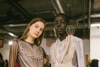 Backstage at the AW20 Y/Project fashion show 6 5