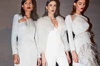 cushnie et ochs AW18 zaha hadid nyfw new york fashion week 3