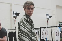 J.W. Anderson SS15 Mens collection, Dazed backstage 9