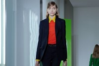Jil Sander AW15, Dazed runway, Womenswear, Yellow Collar 5