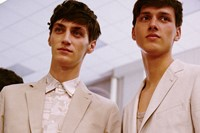 Hermès SS15 Mens collections, Dazed backstage 1