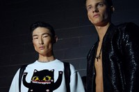 Dsquared2 SS15 Mens collections, Dazed backstage 3