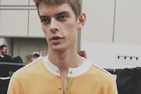 J.W. Anderson SS15 Mens collection, Dazed backstage 8