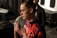 Christopher Shannon SS15 Mens collections, Dazed backstage 8