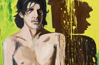 Larry Clark, Jonathan (1) 2014, Oil on canvas
