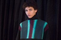 Kenzo AW15 Mens Vertical And Horizontal Striped Jumper 11