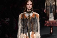 Valentino AW15 Dazed runway womenswear fur coat 31