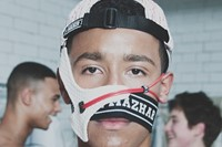 Nasir Mazhar SS15 Mens collections, Dazed backstage 1
