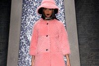 Ashley Williams AW15, Womenswear, Pink Fur Hat And Coat 4
