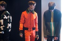Kenzo AW15 Mens Orange Bomber And Trousers Eyelet Boots 7