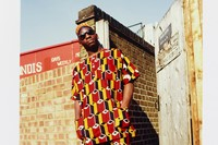 Normski, 'African Homeboy - Brixton, London, 19 staying 1