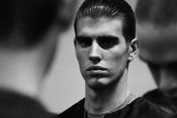Emporio Armani SS15 Mens collections, Dazed backstage 17