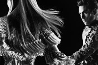 Balmain AW16 campaign Kim Kanye Wolves video 4