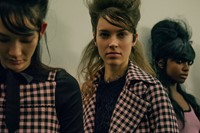 Adam Selman AW 15 Gingham John Waters Pussy Bow Outerwear 14