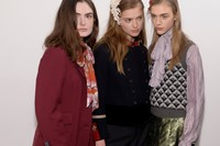 Gucci AW15 Dazed backstage Womenswear group 18