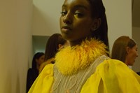 VFiles Made David Ferreira SS16 yellow highneck fur 13