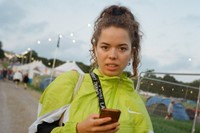 Nilüfer Yanya arrives at Glastonbury 2019 0