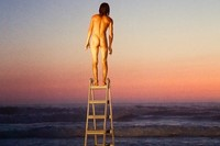 "Ryan McGinley ""Dakota (Moon Ladder Sunset)"", 2013"