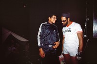 DMC (OF RUN DMC) AND KOOL DJ HERC 5