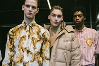MSGM AW19 Menswear Dazed Backstage 12