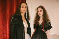 Backstage at the AW20 Simone Rocha fashion show LFW 22