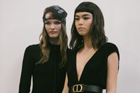 Backstage at the AW20 Dior fashion show 1 0