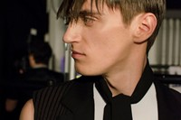 Nicomede Talavera SS15 Mens collections, Dazed backstage 3