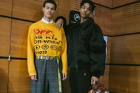 Off-White AW19 Menswear Backstage Dazed Virgil Abloh 23