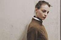 Margaret Howell AW15 Womenswear Cable Knit White Shirt 3