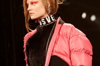 Versus Versace AW17 womenswear London LFW dazed 10