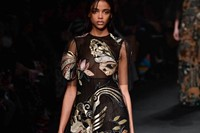 Valentino AW15 Dazed runway womenswear butterflies gown 30
