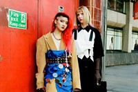 Yu Fujiawara street style London Fashion Week 0