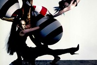 Gareth Pugh 10 Years Dazed Archive Cover Balloons April 2004 4