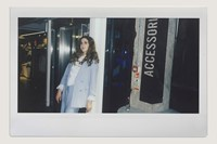 Let's Eat Grandma Bershka in-store 9