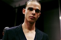 Emporio Armani SS15 Mens collections, Dazed backstage 13