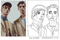 Salvatore Ferragamo SS16 Milan menswear Badly Drawn Models 0