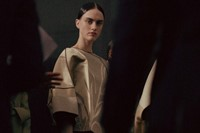 Armani Privé Haute Couture SS15 Structured Top Gold Handle 8