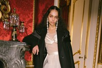 Backstage at the AW20 Simone Rocha fashion show LFW 24
