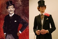 LCM London menswear art collages DUNHILL 2