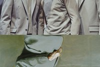 Milan menswear art collages Calvin Klein 17