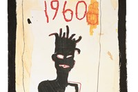 Jean-Michel Basquiat Untitled (1960), 1983 3