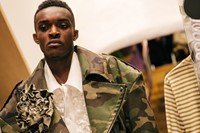 Backstage at Vaquera AW20 Dover Street Market 1