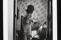 Armet Francis, 'Self-Portrait in Mirror', London staying 0