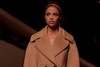 Fendi AW15, Womenswear, Dazed, Camel Coat Double Breasted 0