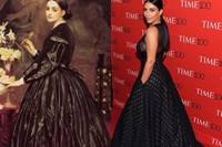 Mrs. James Guthrie (1865) / Kim at the 2015 TIME 100 Gala 11